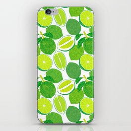 Lime Harvest iPhone Skin