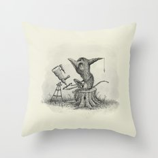 'Looking For Astronauts' Throw Pillow