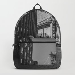 New York City Bridge (Black and White) Backpack
