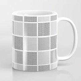 carreaux checked fabric design Coffee Mug