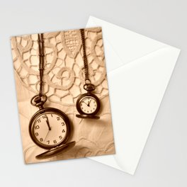 Pocket Watches Stationery Cards