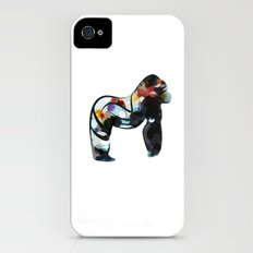 Abstract Gorilla Slim Case iPhone (4, 4s)