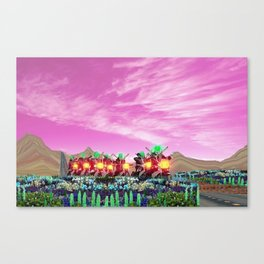 Outlaw Highway Canvas Print