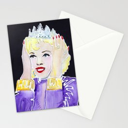 Diamonds are a Girl's Best Friend Stationery Cards