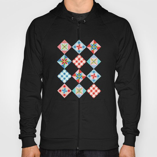 Country Days Patchwork Design Hoody