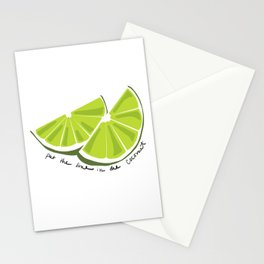 Lime in the Coconut Stationery Cards
