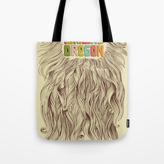 Portland = Beards Tote Bag