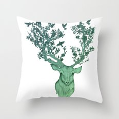 The Natural Progression Throw Pillow