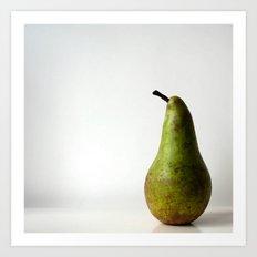 Sunday Pear Art Print