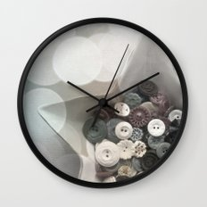 Winter Stars Wall Clock