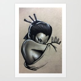 Never To Be Unseen Art Print