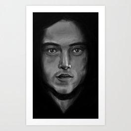Ode To Mr. Robot Art Print