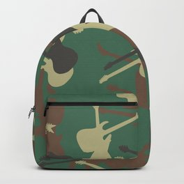 Guitar Camouflage Backpack