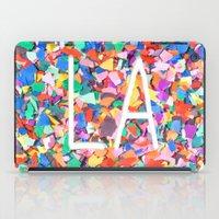 la iPad Cases featuring LA by StuartWallaceArt