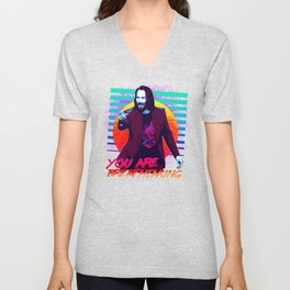 Keanu Reeves - You are breathtaking! Unisex V-Neck