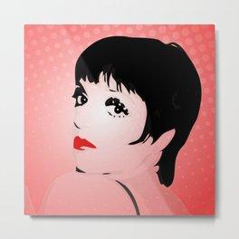 Liza Minnelli - Liza with a Z - Pop Art Metal Print