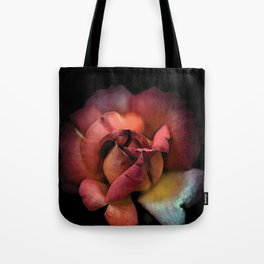 Rose qui se fane colors fashion Jacob's Paris Tote Bag