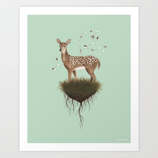 High Places Art Print