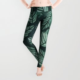 Colorful leaves IV Leggings