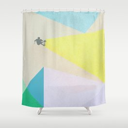 human edge #3 Shower Curtain