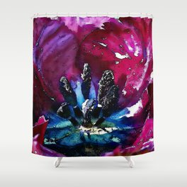 Bee-view Shower Curtain