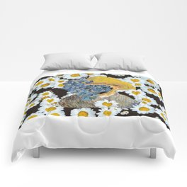 Van flowers Comforters