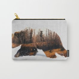 Travelling Bear Carry-All Pouch