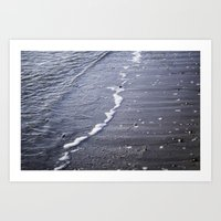 salt water Art Prints featuring Salt water by Emelie Johansson