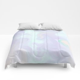 Holographic Marble x Purple Comforters