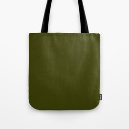 Dark olive Tote Bag