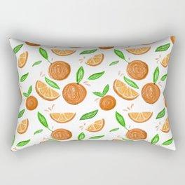 Happy Oranges Rectangular Pillow