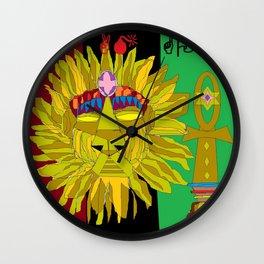 HU of LYFE Wall Clock