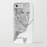 salvador dali iPhone & iPod Cases featuring Salvador Dali by Ina Spasova puzzle