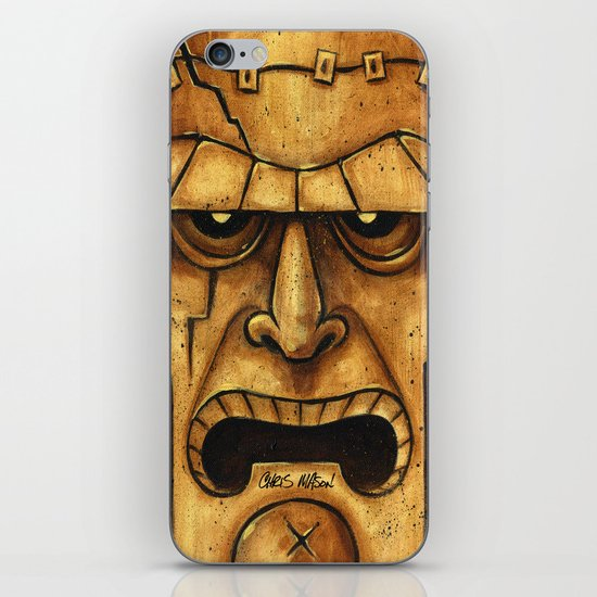 TIKI Frankenstein iPhone & iPod Skin