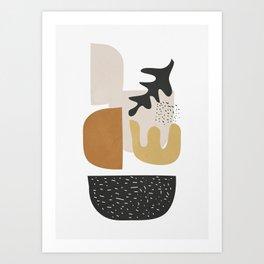 Abstract Shapes  2 Art Print