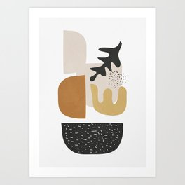 Abstract Shapes  2 Art Print