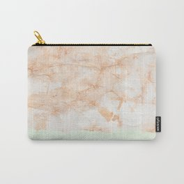 Mint Marble Chip Carry-All Pouch
