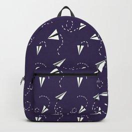 Trouble Maker in Purple Backpack