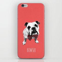 Red Bowser iPhone Skin