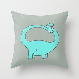 Prehysterical Throw Pillow
