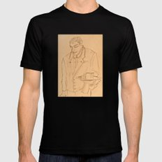 The Waiter SMALL Mens Fitted Tee Black