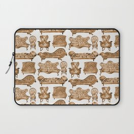 Victorian Lounge – Sepia Palette Laptop Sleeve