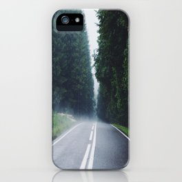 The Empty Road  iPhone Case