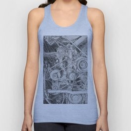 Inner Workings Unisex Tank Top