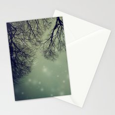 Alien Invader Trees Stationery Cards