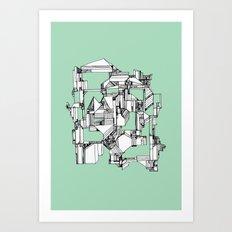 Tea Sandwich City Art Print