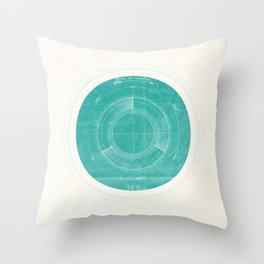 Uranus I Throw Pillow