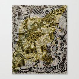 Rubix Cube Canvas Print