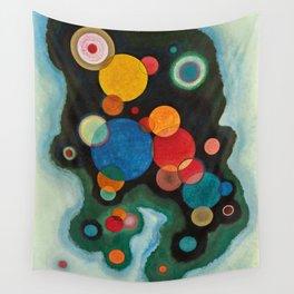 Deepened Impulse, Vertiefte Regung, 1928 by Wassily Kandinsky Wall Tapestry
