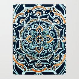 Bohemian Zen Mandala Poster